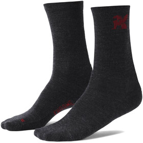 Chrome Merino Crew Socks Men charcoal
